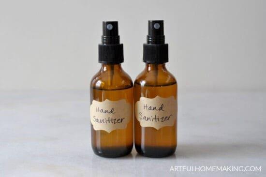 Homestead Blog Hop Feature - DIY-hand-sanitizer