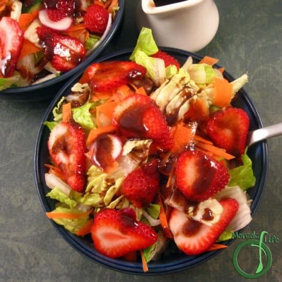 Homestead Blog Hop Feature - roasted-strawberry-balsamic-vinaigrette
