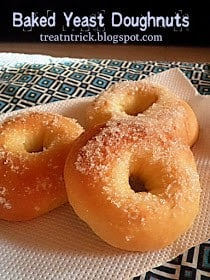 Homestead Blog Hop Feature - baked yeast doughnuts
