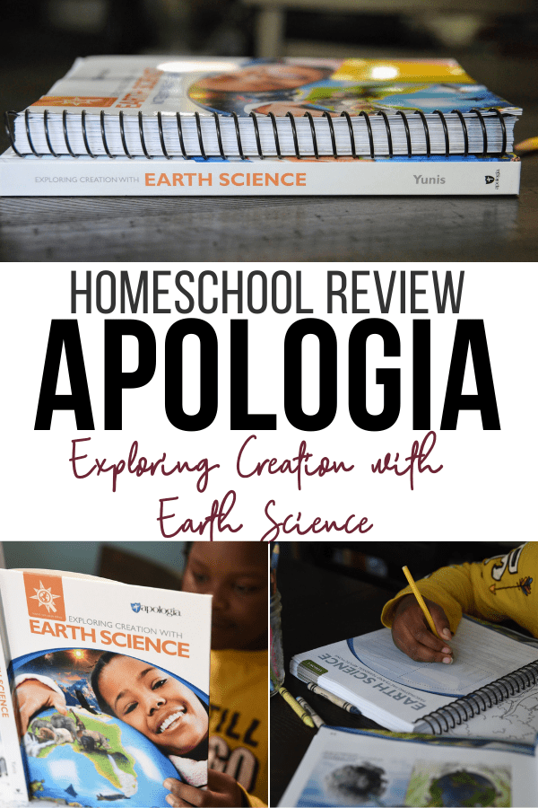 Apologia Exploring Creation with Earth Science