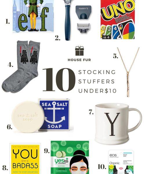 10 stocking stuffers