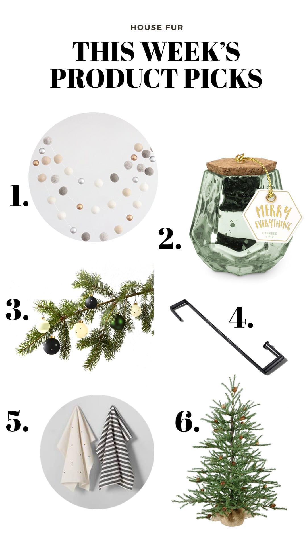 holiday product picks