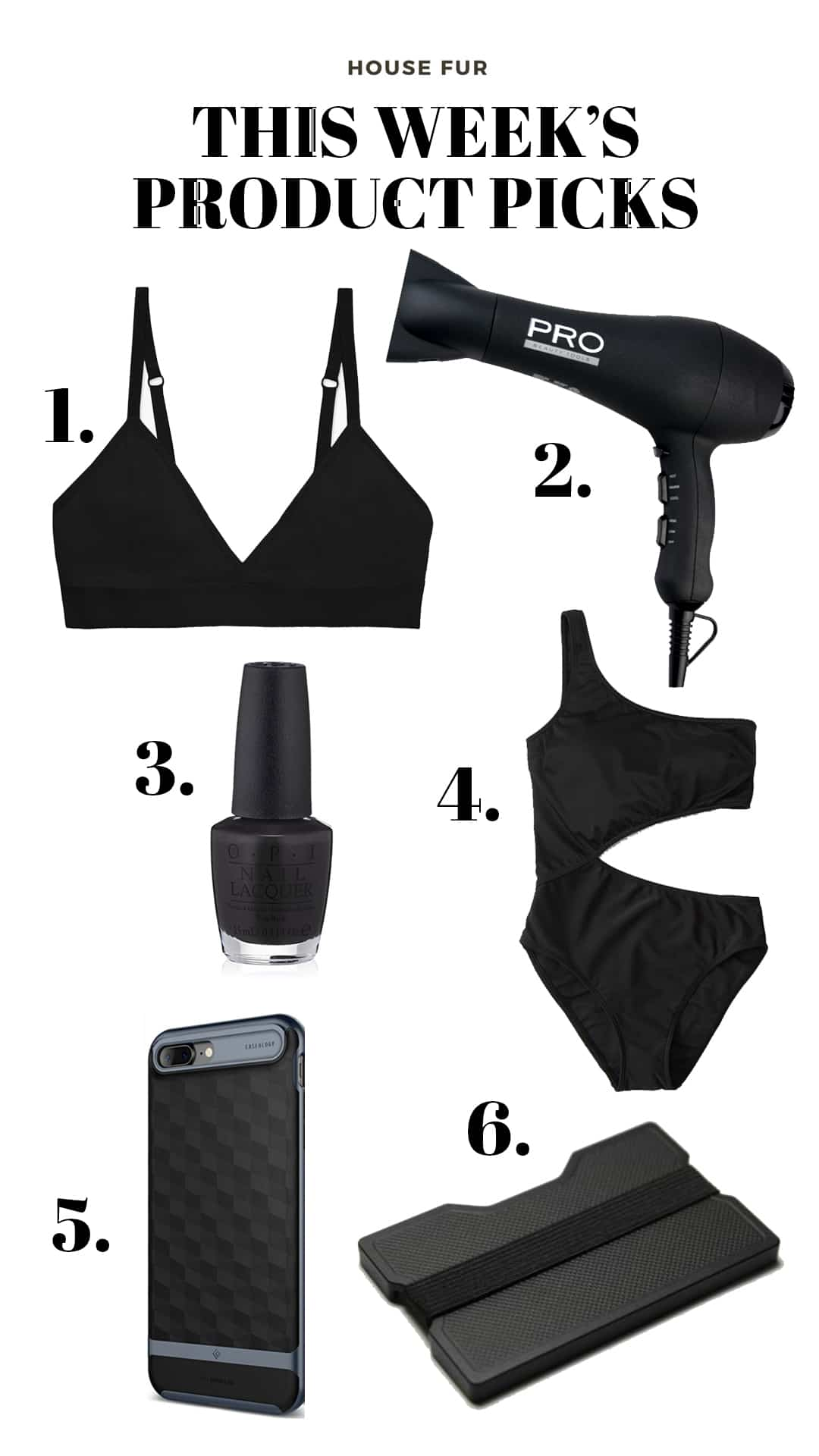 black products I love