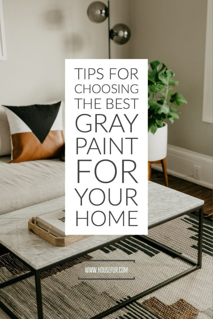 how to choose the best gray paint for your home