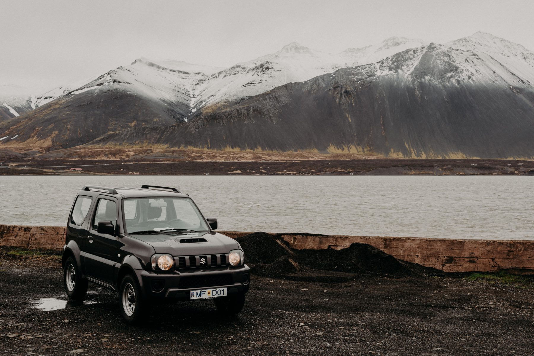 renting a car in Iceland