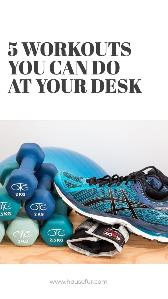 workouts you can do at your desk