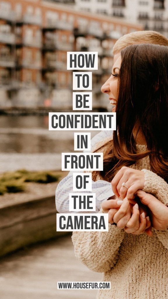 be confident in front of the camera for your photo session