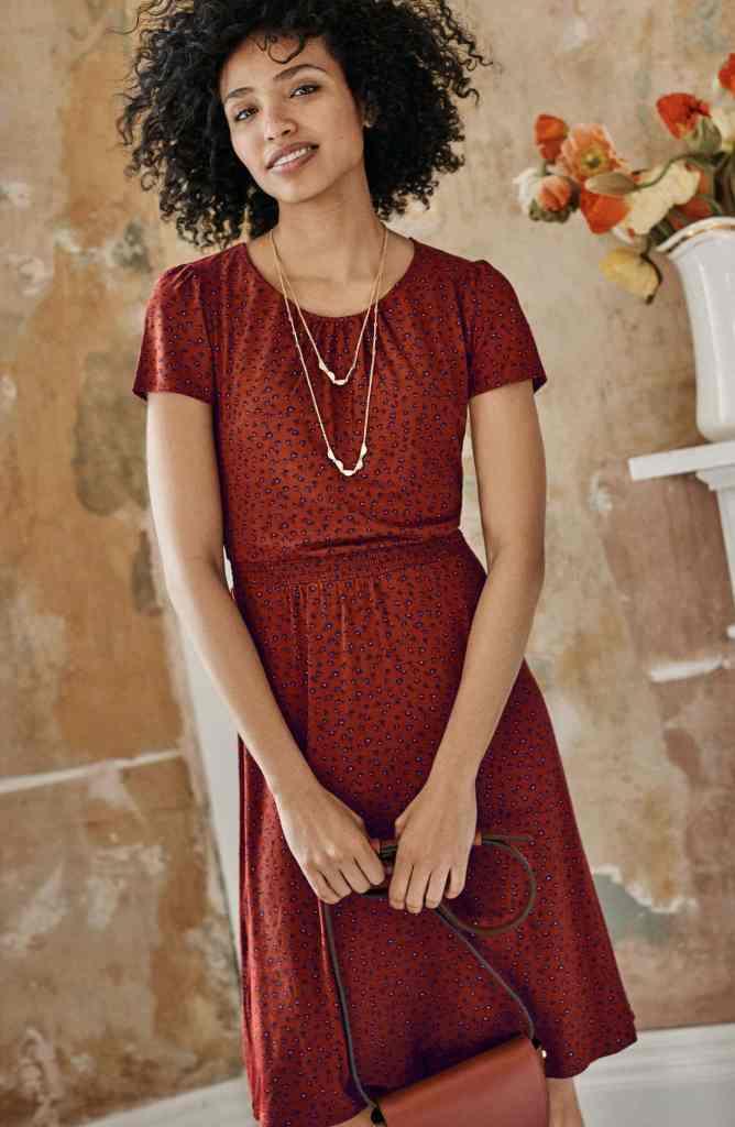 EVANGELINE JERSEY DRESS