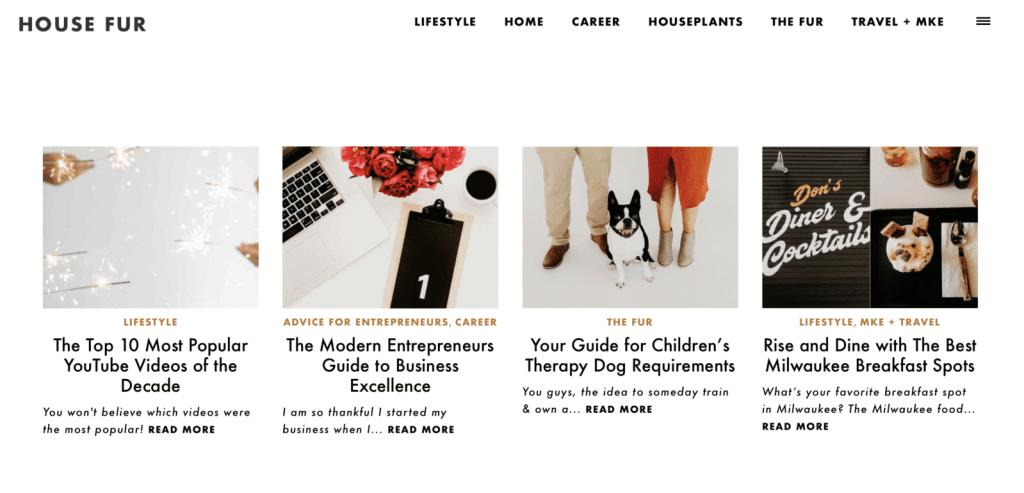 house fur blog