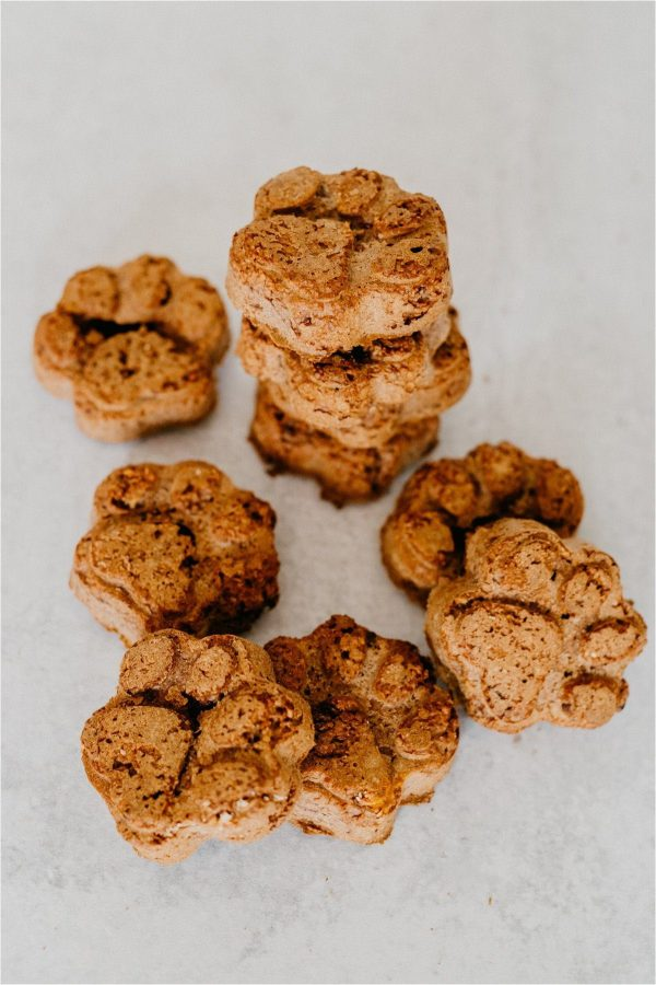 Healthy Homemade Wild Berry & Salmon Oil Dog Treats