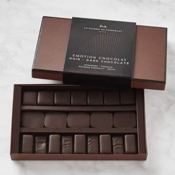 La Maison Emotion Dark Chocolate Box