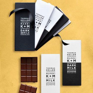 K+M Milk & Dark Chocolate, Ecuador