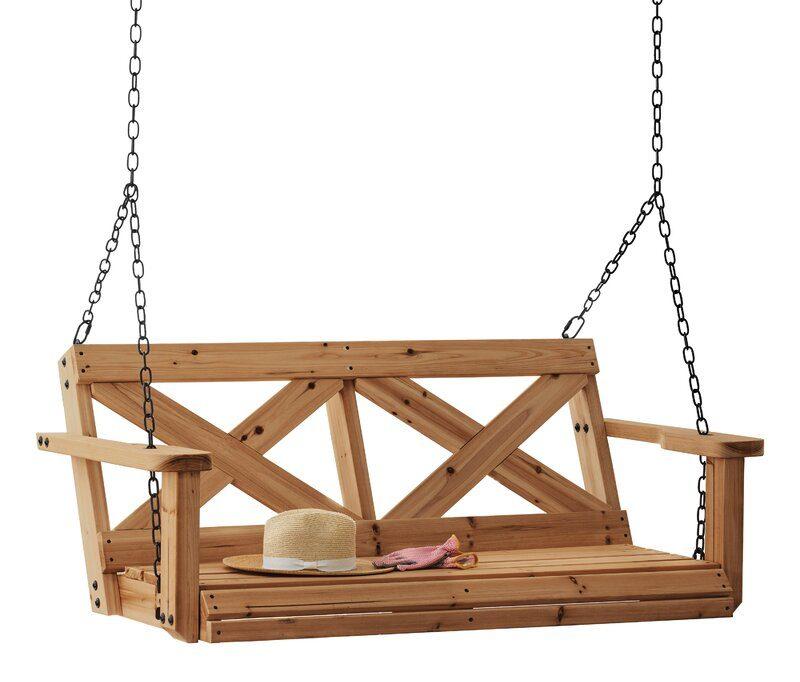 All Cedar Porch Swing