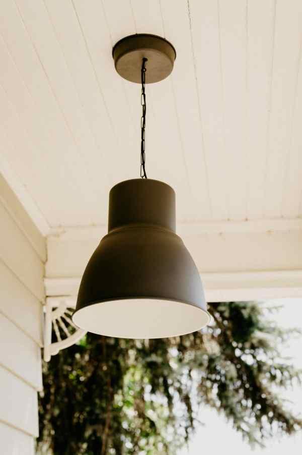modern ikea porch light