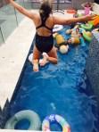 More pool fun.