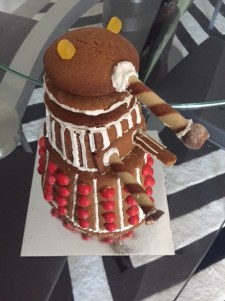 The gingerbread dalek was devoured on Xmas eve.