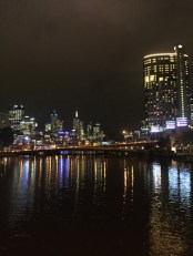 DD and I went for a wander at Southbank one night.