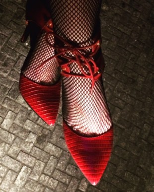 My ruby slippers.