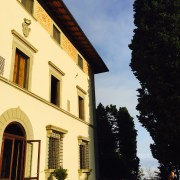 A view of our villa.
