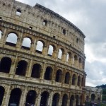 Wowed by the Coloseum.