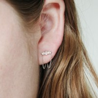 Catbird :: Sleeping Beauty Chandelier Earrings