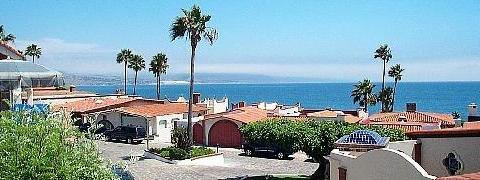 Looking towards Ensenada