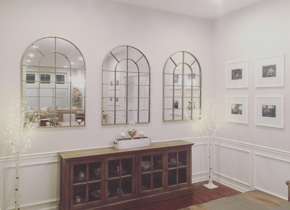grand palais wall mirror from ballard designs - house inspired