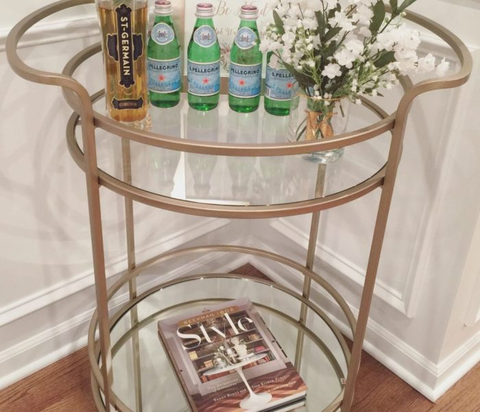 Tristan Bar Cart from Pottery Barn