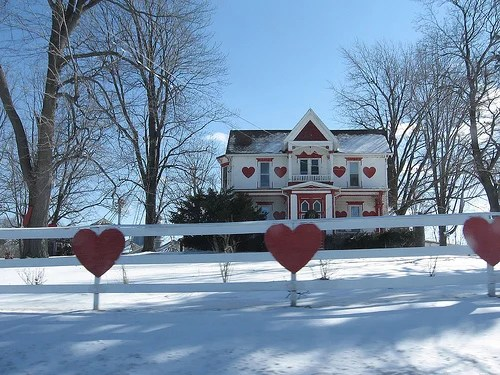 Valentines Day Houses
