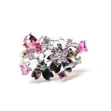 ピンクサファイア ハートシェイプ リング 指輪 桜 さくら サクラ