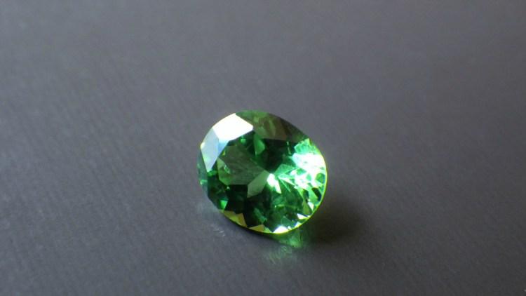 Tsavorite (Green Grossular Garnet) 0.55ct Tanzania_9
