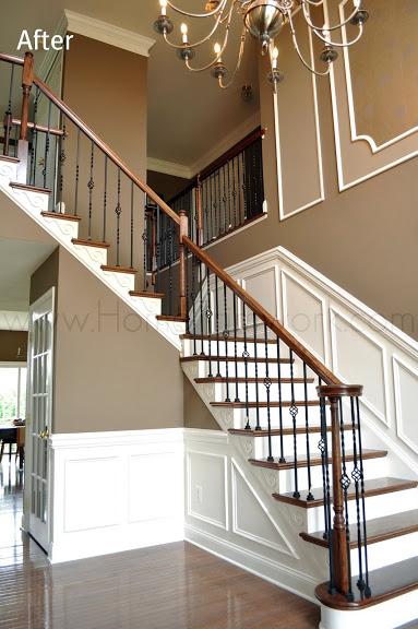 Beautiful Foyer Stairwork Home Trimwork House Amp Home