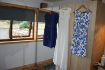 Dresses! Mine is from Monsoon, mum's is from Coast and Lisa's is from Oasis