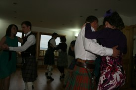 A little bit of Scottish country dancing
