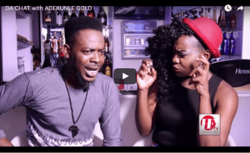 VIDEO: SEE HOW ADEKUNLE GOLD TALKS SIMI & SHARES LIFE EXPERIENCES ON 'DA CHAT'