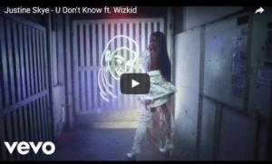 houseofaceonline.com-VIDEO-Justine-Skye-Wizkid –U-Don't-Know
