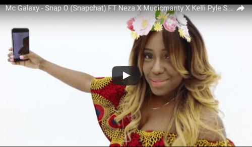 VIDEO: Mc Galaxy – Snap O (Snapchat) Ft