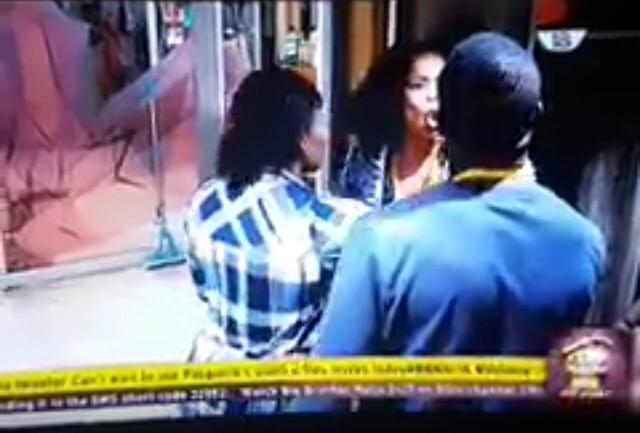 Video: Bally and Tboss Have a serious quarrel in the Big Brother Naija