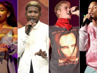 ARIANA GRANDE ANNOUNCES MANCHESTER BENEFIT CONCERT WITH JUSTIN BIEBER, USHER, & PHARRELL