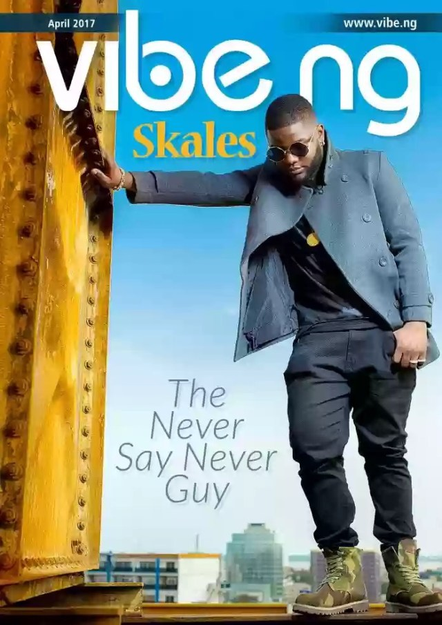 Skales Covers The Latest Issue Of Vibe.ng Magazine