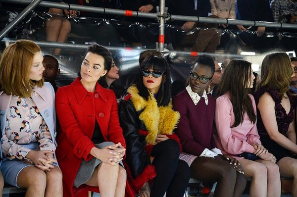 A Tweet Come True! Rihanna & Lupita Nyong'o Film REALLY In The Works!