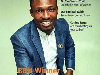 Efe Ejeba covers Guardian Life Magazine