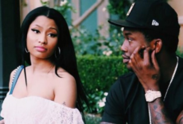 MEEK MILL STOP POSTING MONEY YOu DO NOT HAVE ON INSTAGRAM - NICKI MINAJ