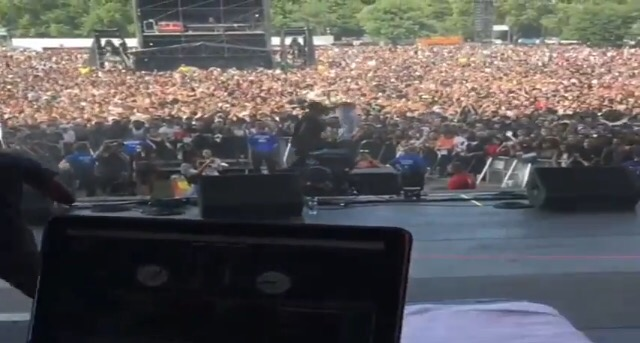 Video: Wizkid Performs To 300,000 Fans At Wireless Festival 2017 In London