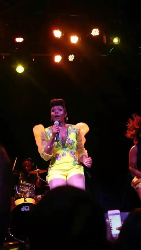Yemi Alade performing Chicago Concert