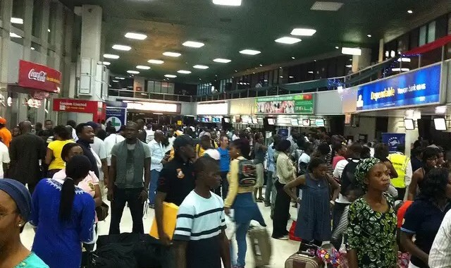 Photos: Rats Hanging From The Ceiling At Murtala Muhammed Airport Lagos