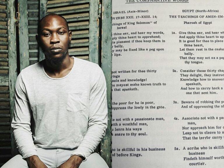 Seun Kuti accuses God of plagiarism