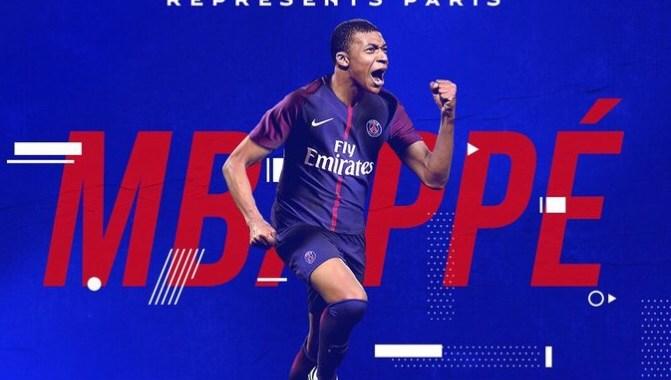 Kylian Mbappe completes his €180 million Paris Saint-Germain move
