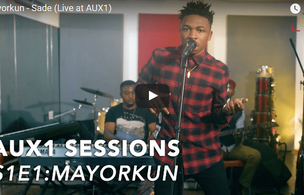Watch Mayorkun Perform 'SADE' & 'ELEKO' Live At Aux1