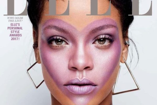 RIHANNA COVERS 'ELLE'